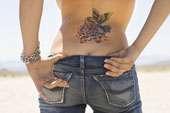 tatuaggio sul dorso