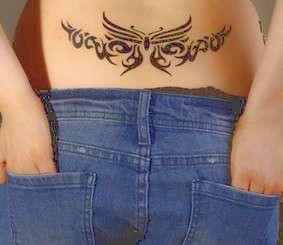tatuaggio sulla schiena