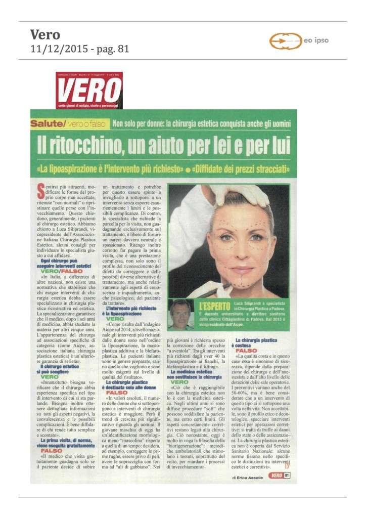 articolo chirurgia estetica